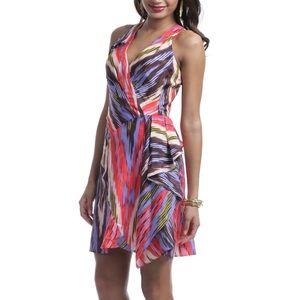 Nanette Lepore silk Go Getter dress